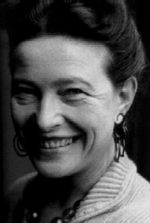 Simone de Beauvoir picture